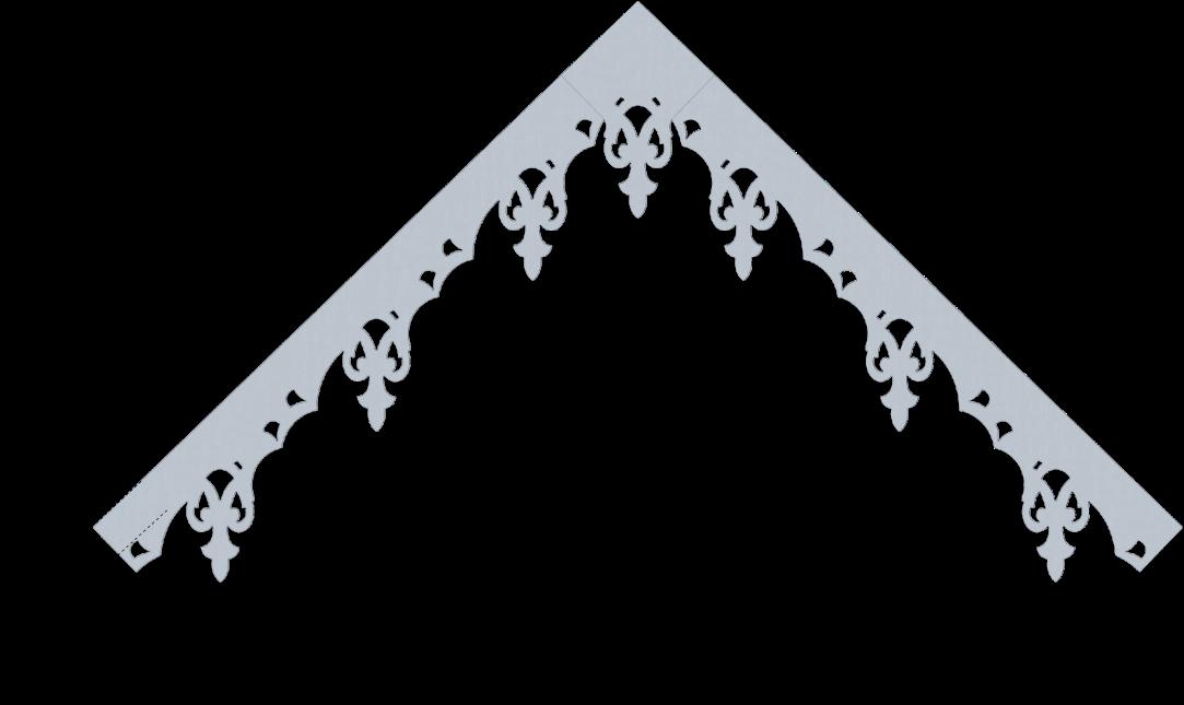Modèle LB081 - Pente 45 degrés