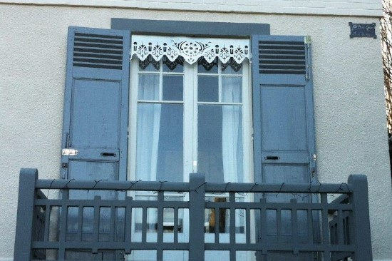Ornement de fenêtre et décoration extérieure en Zinc naturel