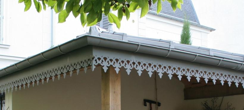 Lambrequins de toit horizontaux