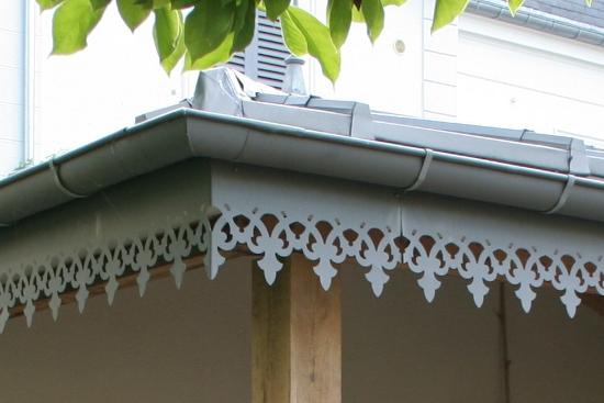 Ornement de toit et décoration extérieure en Zinc Quartz