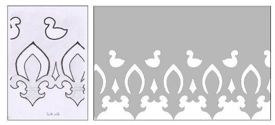 Reproduction à partir d'un dessin